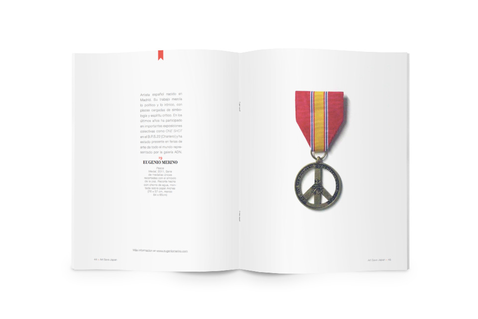 Catálogo Art Save Japan - Javier Maseda Design