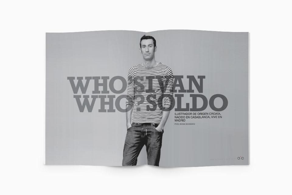 Iván Soldo - Revista Abre el Ojo - Javier Maseda Design