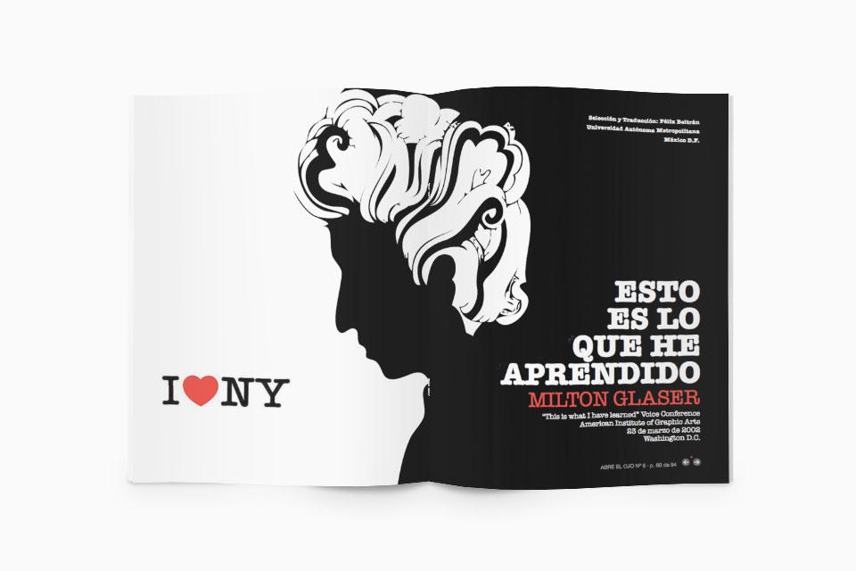 Milton Graser - Abre el Ojo - Javier Maseda Design
