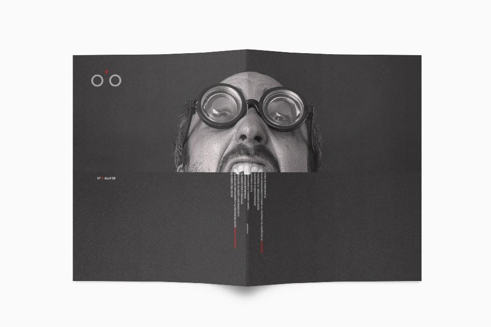 Portadas Revista Abre el Ojo - Javier Maseda Design