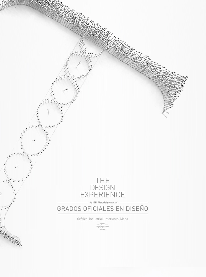 THE DESIGN EXPERIENCE, CAMPAÑA IED MADRID - Javier Maseda Design